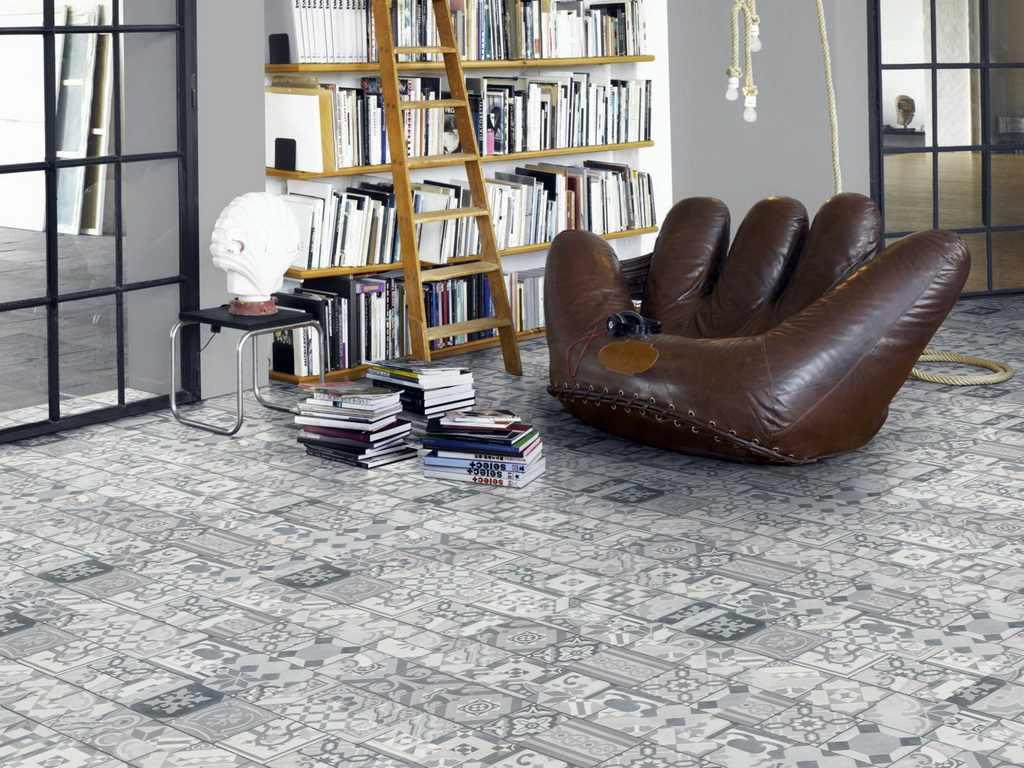 Ornamentic grey 4V / PARADOR Trendtime 5.50 / P1602133